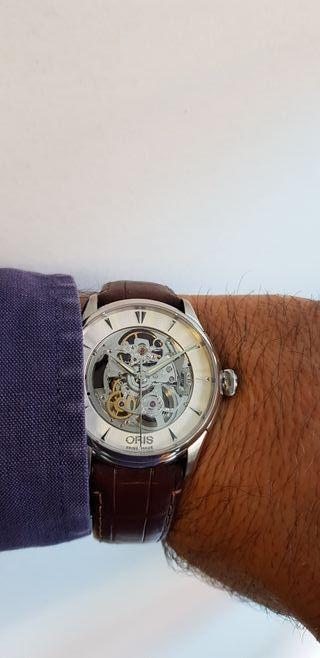 Reloj Oris Skeleton