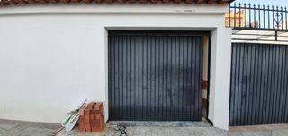 Portón garaje de una hoja