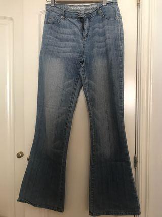Bootcut (Jeans semiacampanado) vaquero denim