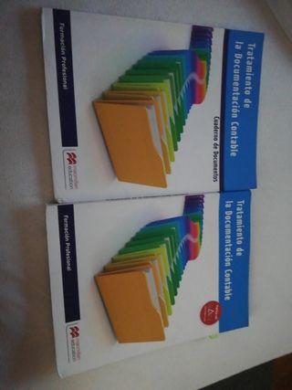 libro de contabilidad, grado medio de administraci