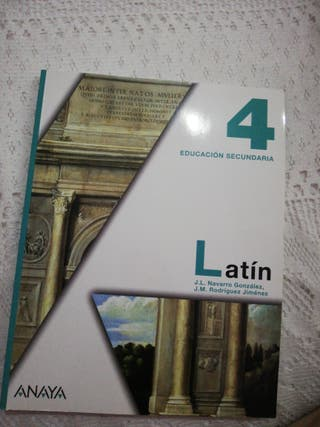 libro Latin 4 de la eso