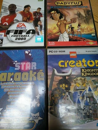 CD ROM DVD Jeux