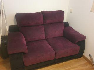 sofa morado