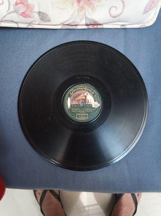 Discos de Pizarra gramófono.