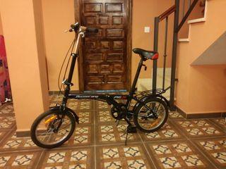Bicicleta plegable 16 pulgadas