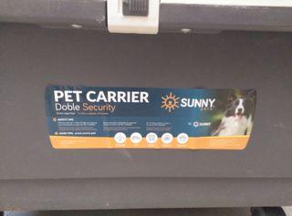 caja transportin mascotas