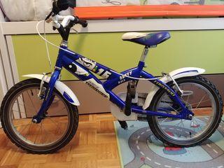 Bicicleta niño talla 16 pulgadas