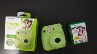 Cámara de fotos intantánea Instax Mini 9 verde