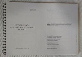 """""""Introducción a la Historia Económica Mundial"""""""