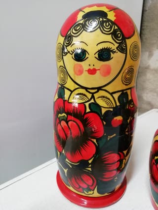 Matroska rusa de madera 23cm