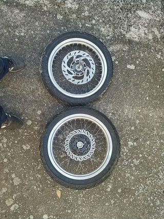 "ruedas supermotard 17"""