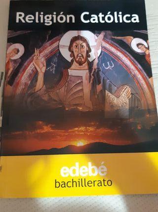 Libro Religión Católica, edebé 1 bachillerato