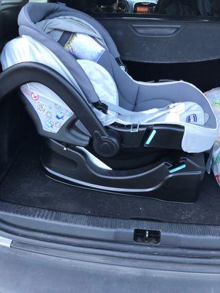 Maxicosis de bebé con base para el coche de 0-13 k
