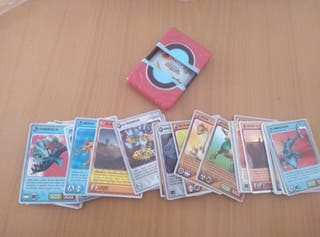 Cartas/Cromos Invizimals y Pokeball