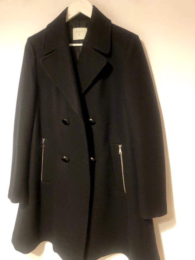 2019 profesional precios increibles última selección Vendo abrigo negro de lana mujer second hand for 30 € in ...