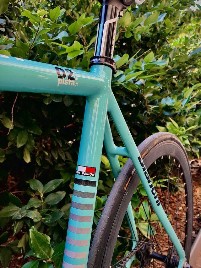Bianchi 125 aniversario D2 Super Pista
