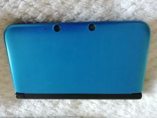 Nintendo 3DS XL Azul + Funda + 9 juegos