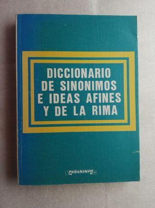 DICCIONARIO DE SINÓNIMOS E IDEAS AFINES Y DE LA R