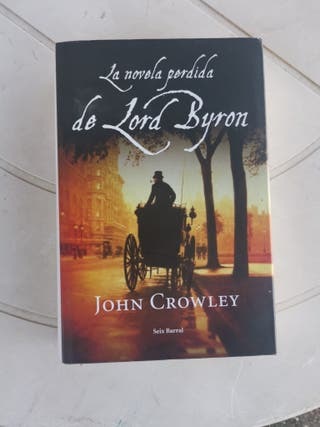 Libro La novela perdida de Lord Byron