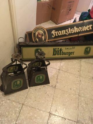 Lámparas Billar y conjunto Franziskaner