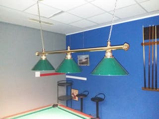lampara para billar