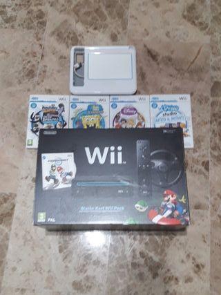 Mario Kart Wii Pack.Negociable con mas juegos