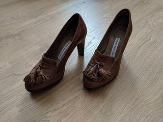 Zapato piel de mujer de Pedro Miralles. Talla 35