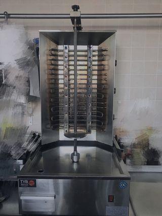 Máquina para hacer kebab
