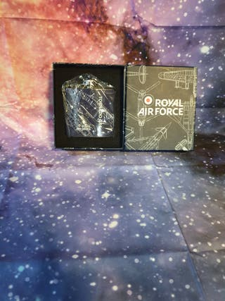 raf hip flask brand new
