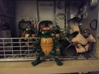 tortuga ninja Michaelangelo