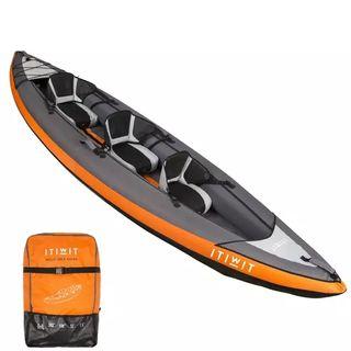 kayak 3 plazas