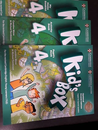 Libros de Inglés Kid's Box, Pupil's Book 4
