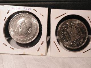 moneda de 5 ptas 1949 *50