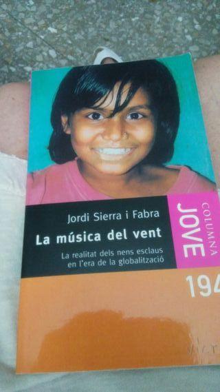 Libro: La música del vent de Jordi Sierra