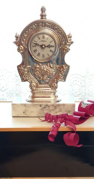 Reloj PEDRO DURÁN ALFONSO XII PLATA DE LEY.