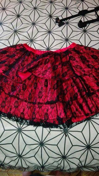 falda gotica