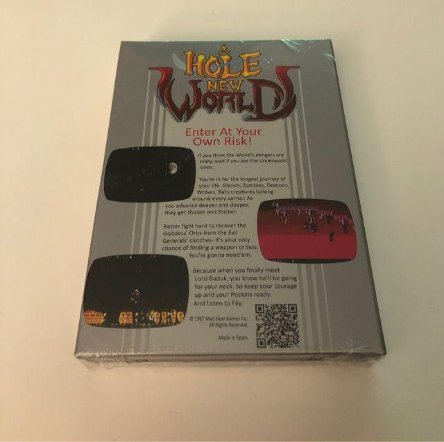 A hole new World, Limited Run Games, nuevo .
