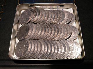 lote monedas de 2 ptas 1982-1984