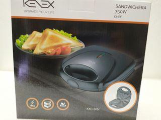 sandwichera 750w chef