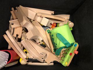 Tren madera juguete IKEA