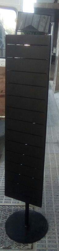 expositor vertical negro