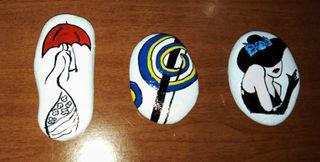 Pisa papeles/ Piedras decorativas