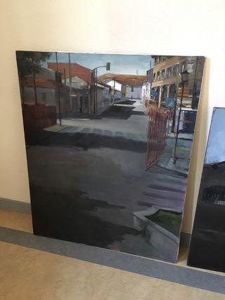LiQuido - Cuadro pintor Gomena