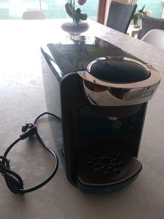 Cafetera Tassimo Bosh azul como nueva