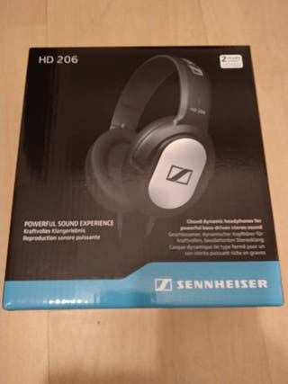 HD 206 SENNHEISER auriculares