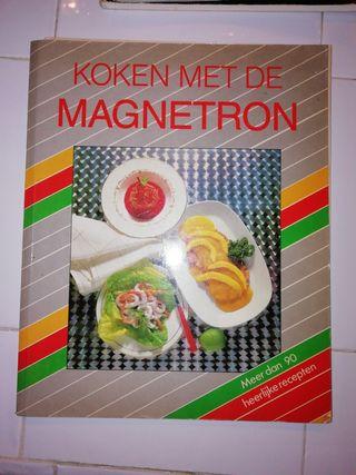 Libros cocinar con microondas en Holandés.