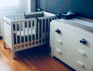 Cuna bebé 60x120