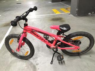 "Bicicleta Monty 104. Rueda 18""."
