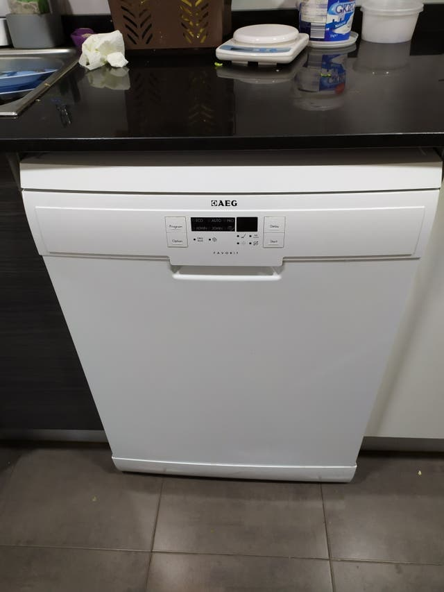 placa electronica lavaplatos piezas aeg F55512WO