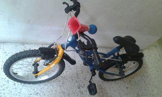 Bicicleta niño/a 14 pulgadas